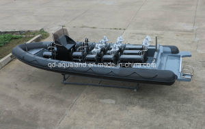 Aqualand 30feet 9m Military Rigid Inflatable Boat/Rib Patrol Boat (RIB900B) pictures & photos