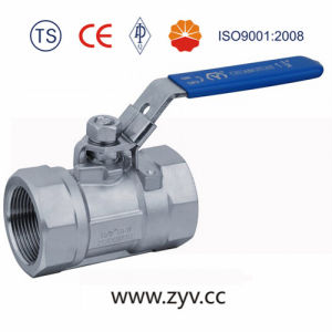 High Pressure Stainless Steel Threaded End Ball Valve pictures & photos