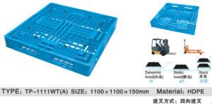 Euro Pallet Type 1100X1100X150mm Plastic Pallet pictures & photos