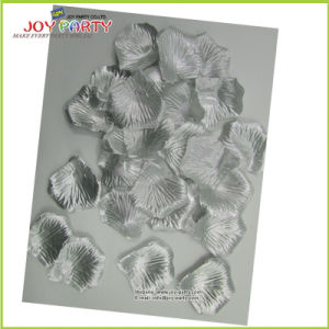 Silver Artifical Polyester Rose Petals pictures & photos