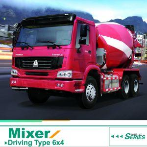 8 M3 HOWO 6X4 Concrete Mixer Truck