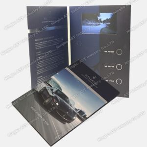 Video Player Cards, Video Brochure, LCD Video Brochure (S-1306B) pictures & photos