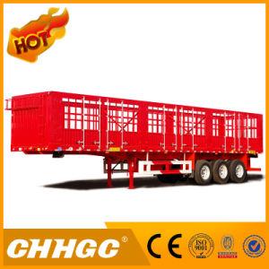 Van Type Truck Cargo Semi-Trailer
