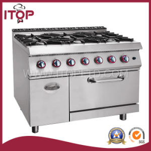 6-Burner Heavy Duty Gas Range (XR900) pictures & photos