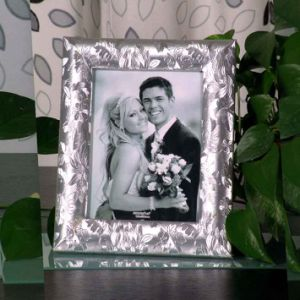 Wedding Item of MDF Leather Frame (leather-w)