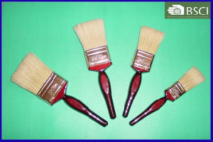 Shsy-2002-Bc-W Red Wooden Handle Black Bristle Paint Brush pictures & photos