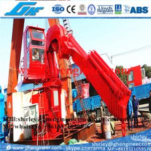 3.5t Hydraulic Knuckle Boom Marine Crane (GHE-KBMC-4100) pictures & photos