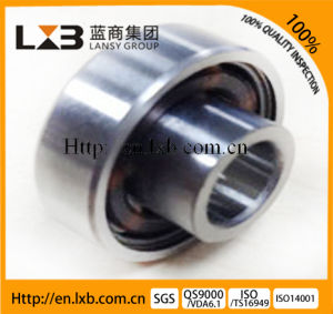 20*47*31mm Rubber Coated Contact Seals Insert Bearing Uc204