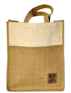 Double Color Thickened Edition Jute Bag (hbjh-43) pictures & photos