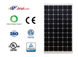 Salt Mist Resistant 270W Monocrystalline Silicon Solar Panel for Rooftop PV Projects