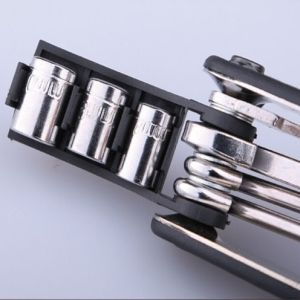 Multifunctional Screwdriver Adjustable Wrench Bike Bicycle Tool pictures & photos