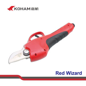 Koham Tools Mango Tree Branches Cutting Li Battery Secateurs pictures & photos