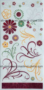 Floral Rub-Ons Sticker for Scrapbooking & DIY Project pictures & photos