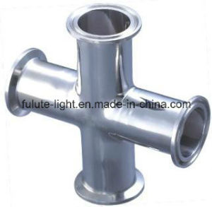 Food Grade Stainless Steel Sanitary Tri Clamp Cross pictures & photos