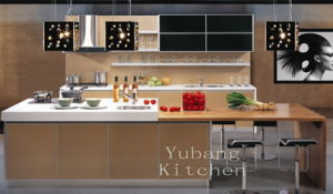 High Gloss/Matt Finished Lacquer Kitchen Cabinet (M-L48) pictures & photos
