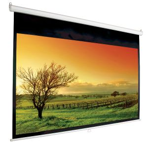 China Manual Projection Screen with Matte White, 200X200cm pictures & photos