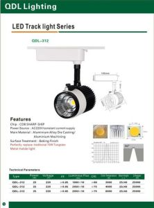 25W COB Sharp Track Light Qdl-312