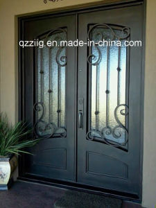 Iron Door with Square Top
