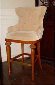 Hotel Bar Chair/Hotel Bar Area Furniture/Bar Table and Bar Stool (GLB-003) pictures & photos