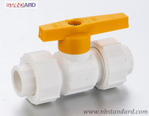 PPR Ball Valve with Compression Nut/Handle Valve with Plastic Handle