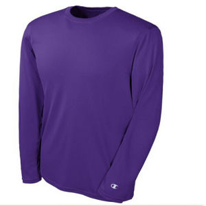 Blank Plain Long Sleeve Men′s T-Shirt pictures & photos