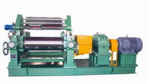 Xk-660 Rubber Sheeting Mill with Stock Blender / Rubber Mixing Mill pictures & photos