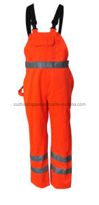 High Visibility Bib Pants (EUR056)