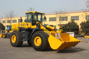 Construction Machinery 6ton Wheel Loader with Rock Bucket pictures & photos