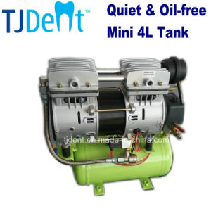 Ce Approved Oilless & Noiseless Mini Air Compressor 4L (TJ-4L) pictures & photos