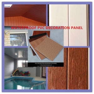 Good Quality Easy Install PVC Docoration Material Ceiling and Wall Panel (RN-80) pictures & photos