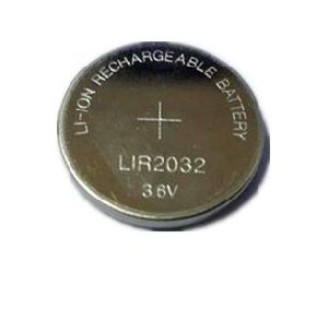 Rechargeable Lir2032 Lithium Polymer Coin Cell Battery pictures & photos