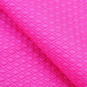 Diamond Printed Jacket Fabric Nylon Taffeta