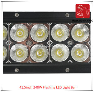LED Car Light of 41.5inch 240W Flashing LED Light Bar Waterproof for SUV Car LED off Road Light and LED Driving Light pictures & photos