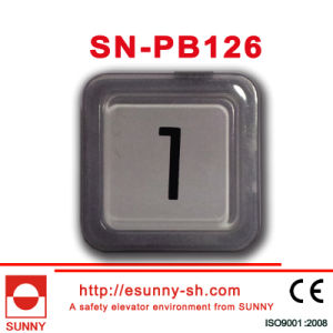 Plastic Elevator Push Button for Otis (SN-PB126) pictures & photos