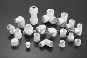 PVC ASTM Sch40 Pipe Fittings for Water Supply pictures & photos