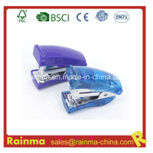 Transparent Bule Mini 24/6&26/6 Stapler, OEM Samll Size Stapler pictures & photos