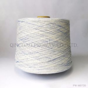 Cotton Blended Yarn with Space Spun Color Effect pictures & photos