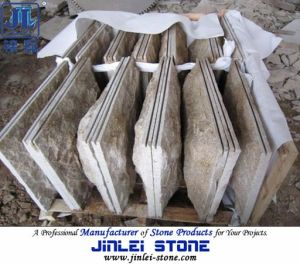Chinese Cheap G682 Yellow Granite Mushroom for Wall Cladding Tiles pictures & photos