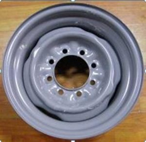 American Brand Light Truck Steel Wheel 16X7 pictures & photos