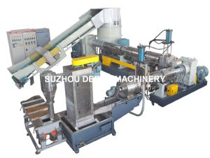 Double Stage Plastic Pelletizing Recycling Line pictures & photos