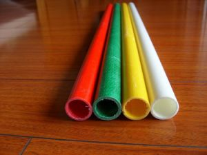 Pultruded High Strengh UV Durable Colourful Fiberglass Tube pictures & photos