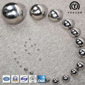 Yusion Factory Supply AISI52100 Steel Ball for Bearing pictures & photos
