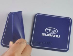 Promotional Logo Embossed Car Anti Slip PVC Silicone Mat pictures & photos