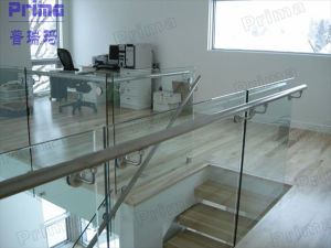 Stainless Steel and Tempered Glass Balustrade for Indoor pictures & photos