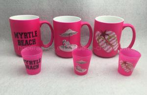 15oz Neon Color Mug, Pink Color Mug pictures & photos