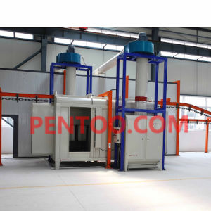 High Quality Automatic Powder Coating Production Line for Car Wheel pictures & photos