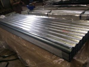 Cold Rolled Galvanized Corrugated Steel Sheet/Roofing Steel pictures & photos