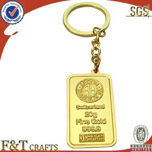 Gold Metal Keychain (FTKC6013Y) pictures & photos