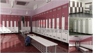 Hot Sale Phenolic Compact Board Locker Used for Gymnasium&Fitnessroom pictures & photos