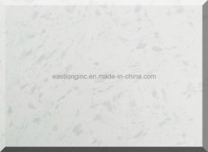 Snow White Artificial Quartz Stone for Solid Surface pictures & photos